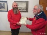 KROSNO ODRZAŃSKIE: Zamek Piastowski wyróżniony. Został Diamentem Turystyki. Dyrektor CAK odebrał dyplom
