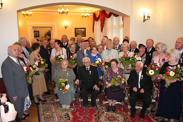 Pięćdziesiąt par w Krośnie obchodziło Złote Gody