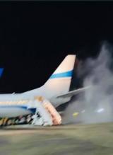 Awaryjne lądowanie polskiego samolotu. Wcześniej maszyna zapaliła się na lotnisku