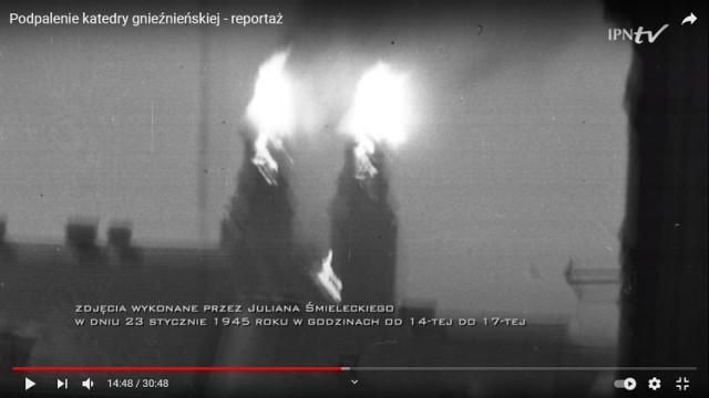 Podpalenie katedry gnieźnieńskiej - reportaż o wydarzeniach sprzed 76 lat
