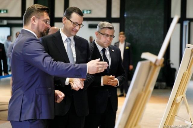 Katowice: Premier zainaugurował budowę instytucji naukowych