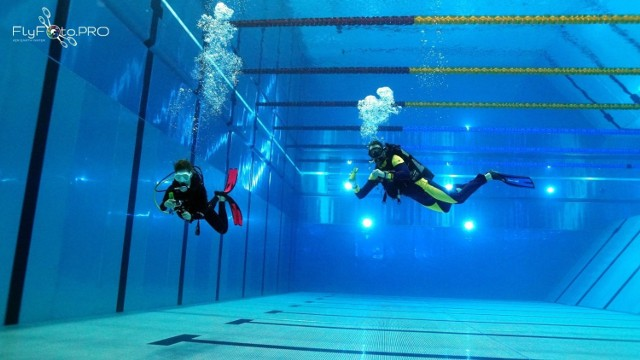 Wymiary Astorii to 50 m x 25 m. Maksymalna głębokość: 6 metrów