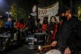 Strajk Kobiet w Gdańsku, 6.11.2020 r. Przemarsz techno przez miasto oraz demonstracja artystów przed Radiem Gdańsk
