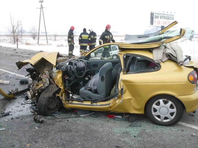 3 lutego o godz. 13.50 na drodze krajowej nr 7 w Cedrach Małych doszło do wypadku drogowego.   Czytaj także na temat wypadku