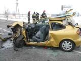 Koszwały - Cedry Małe: Wypadek na drodze krajowej nr 7. Trzy osoby ranne (ZDJĘCIA)