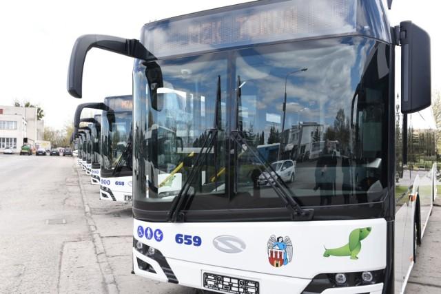 Nowe autobusy MZK w Toruniu