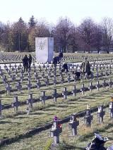 """Uczniowie """"Górnika"""" zapalili znicze na mogiłach poległych żołnierzy II Armii Wojska [ZDJĘCIA]"""