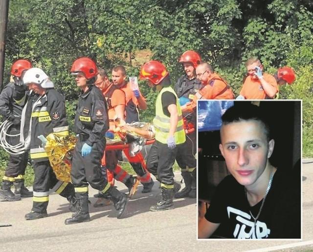Andrzej Szufryn cudem przeżył wypadek w Łęce