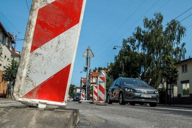 Prace drogowe w Sopocie