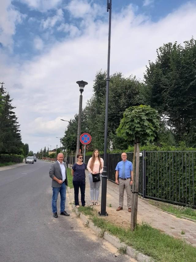 Nowe oświetlenie pojawiło się na ulicach Konopnickiej, Norwida oraz Słońskiej