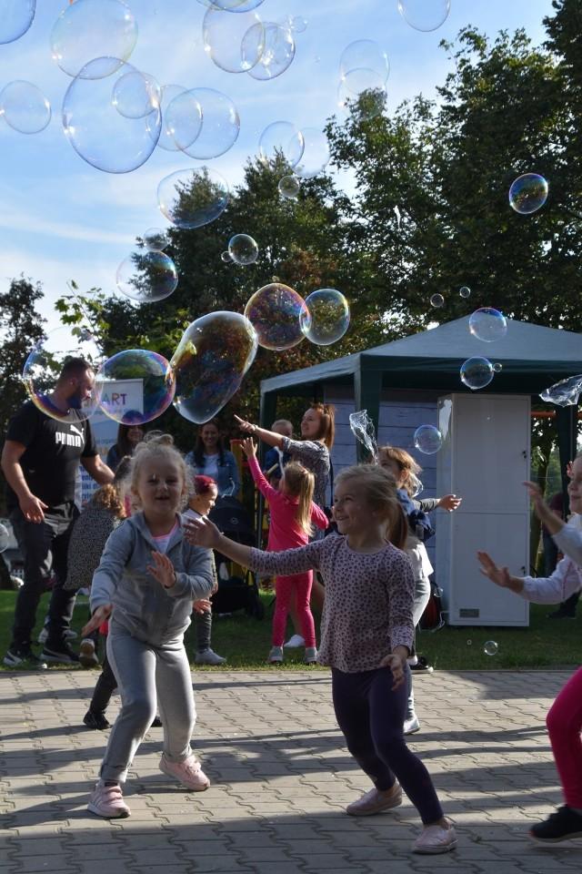 Festyn rodzinny w Lubiatowie. Piękne słońce i doskonała atmosfera