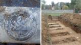 Odnaleziono szczątki trzech żołnierzy Wehrmachtu w Białogórzu koło Zgorzelca