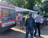 Sczepienia w Korczewie. Mobilne punkty szczepień w gminie Zduńska Wola ZDJĘCIA