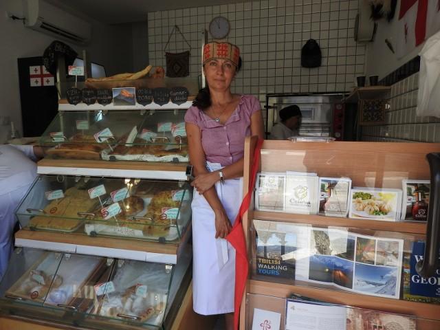Pani Dorota dba o to, aby zachować oryginalne, tradycyjne gruzińskie smaki