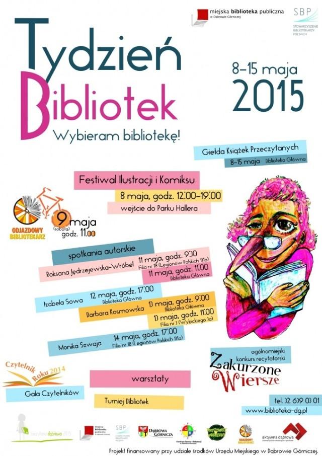Tydzień Bibliotek 2015 Komiksy Pisarze Rajd Same