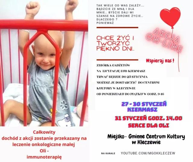 Serce dla Oli z gminy Kleczew.