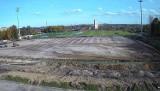 Trwa przebudowa stadionu piłkarskiego Rakowa Częstochowa. Jak postępują prace?