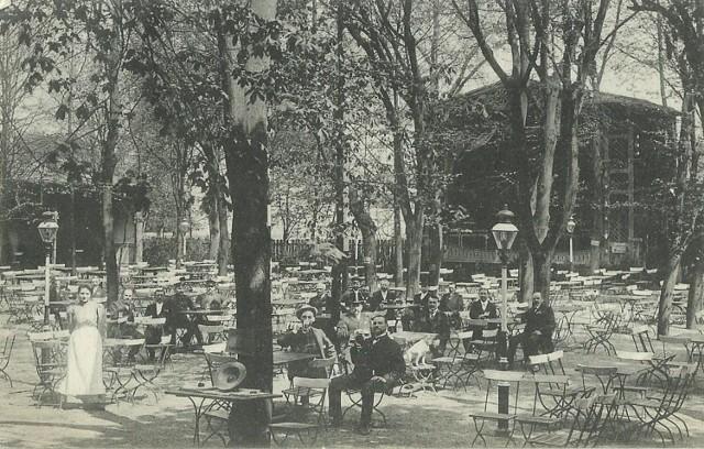 Berlinerstrasse, Hotel Kronprinz z największą i najpiękniejszą salą koncertową. Rok 1919 - Guben