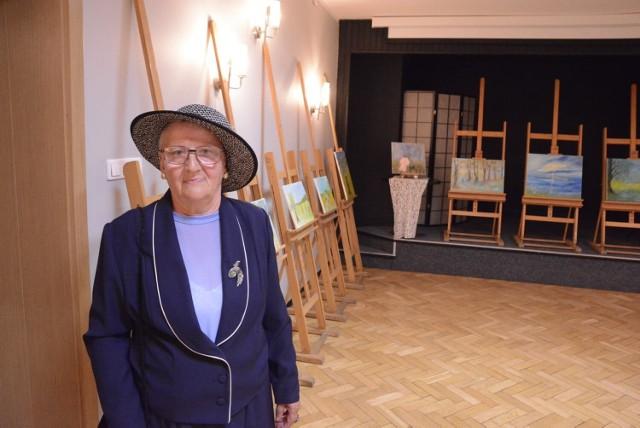 W drugiej połowie sierpnia w Szamotulskim Ośrodku Kultury odbyła się wystawa prac malarskich Marii Antkowiak. Teraz można je zakupić w Liceum Ogólnokształcącym im. ks. Piotra Skargi w Szamotułach