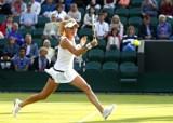 Katowice Open: Agnieszka Radwańska awansuje do drugiej rundy [wideo]