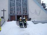 Borusowa. Siedem osób zatruło się tlenkiem węgla w kościele na Powiślu. Do szpitala został zabrany również ksiądz  [ZDJĘCIA]