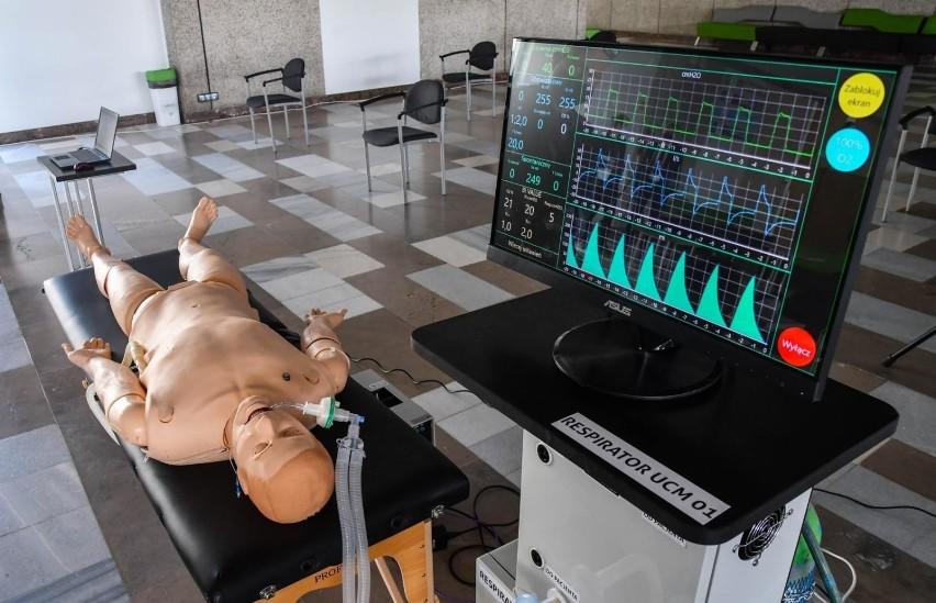 Prezentacja prototypu respiratora odbyła się w maju 2020 r.