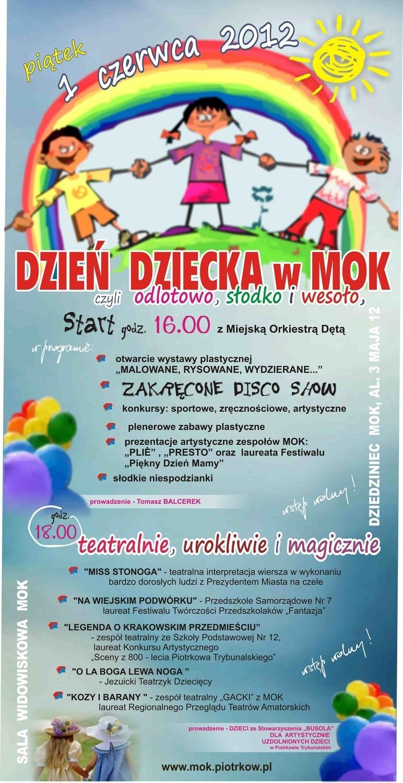 Artystyczny Dzień Dziecka W Mok U Prezydent Chojniak Będzie