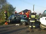 Wypadek w Olendrach pod Kaliszem. Sześć osób w szpitalu [FOTO]