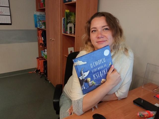 Justyna Stachura - Koordynator Centrum Bibliotecznego dla Dzieci i Młodzieży - Biblioteka Pana Kleksa