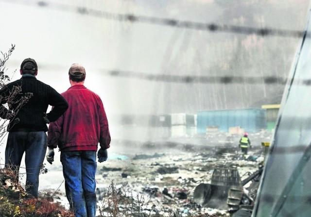 Na składowisko przy ul. Górniczej w Wałbrzychu trafiają m.in. odpady zawierające azbest