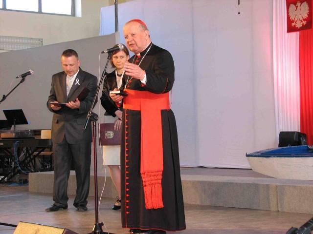 W uroczystości uczestniczył kardynał Stanisław Dziwisz