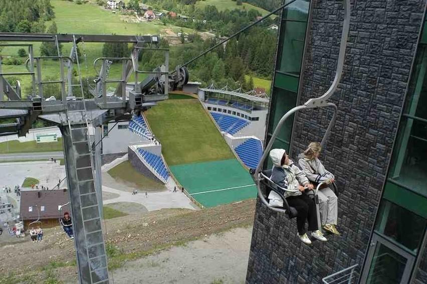 Nowoczesna skocznia narciarska w Wiśle Malince