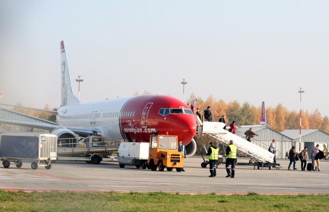 Łódzkie lotnisko przejęło część połączeń z Okęcia.