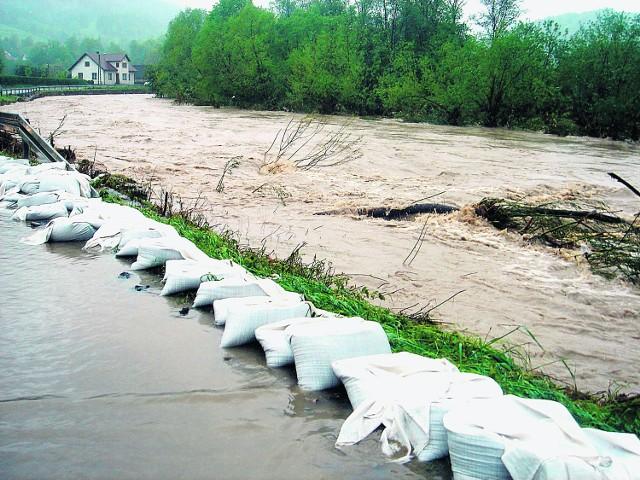 Zbiornik Młynne może uchronić Limanowszczyznę przed taką powodzią jak ta ostatnia