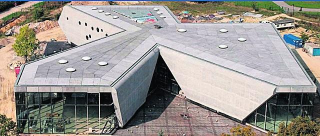 Nowy budynek Muzeum Lotnictwa Polskiego w Krakowie przypomina śmigło samolotu