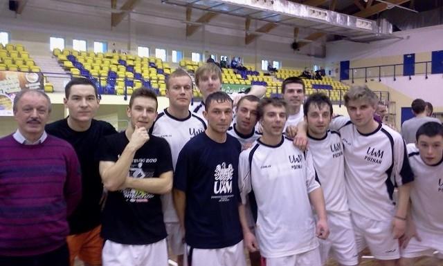 Reprezentacja AZS Uniwersytetu im. Adama Mickiewicza, prowadzona przez trenera Zenona Jezierskiego zdobyła dwa złote medale