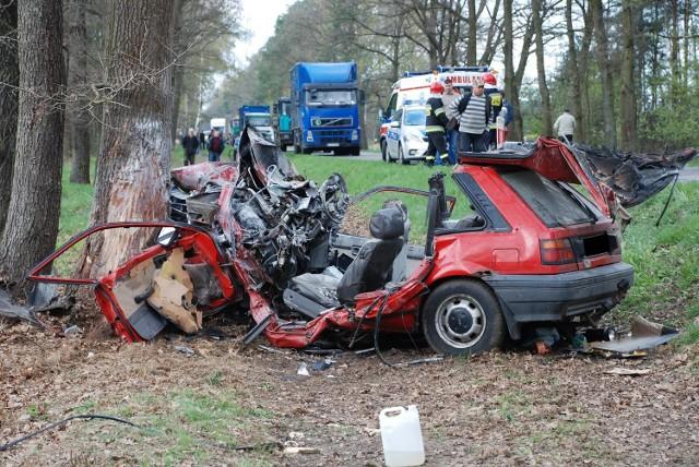Wypadek w Stasinowie