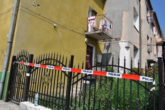 Dom przy ul. Kunickiego, gdzie mieszkali R.