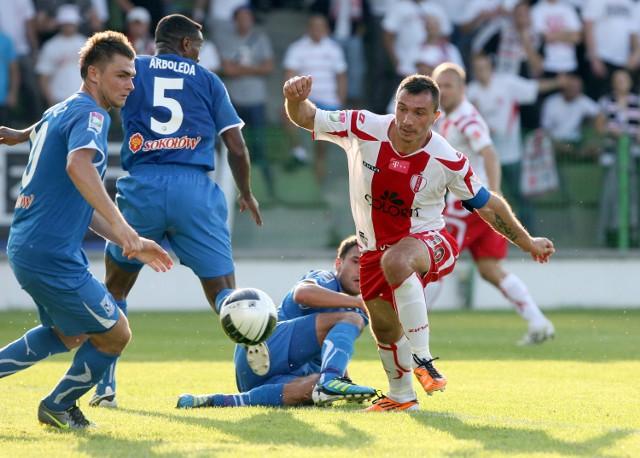 ŁKS przegrał z Lechem w rundzie jesiennej aż 0:5.