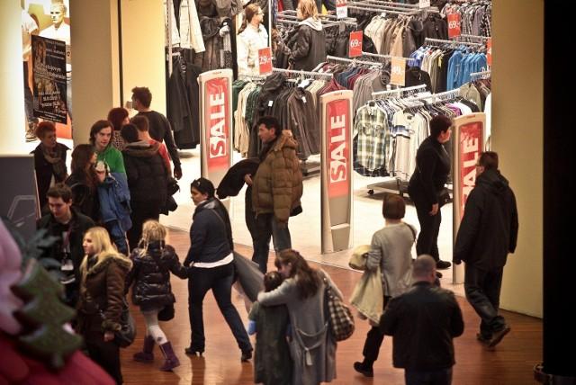 We wtorek w sklepach rozpoczęły się poświąteczne wyprzedaże