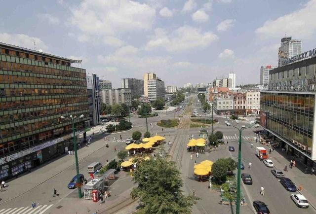 Na razie są tylko obietnice przebudowy centrum Katowic