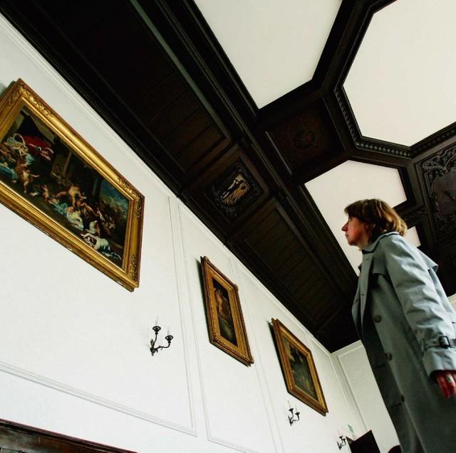 Obrazy z kolekcji gen. Józefa Zająca można oglądać na ścianach bytomskiego muzeum.