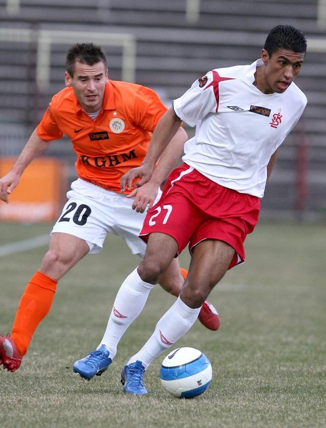 Paulinho trafił do ŁKS w sezonie 2007/2008