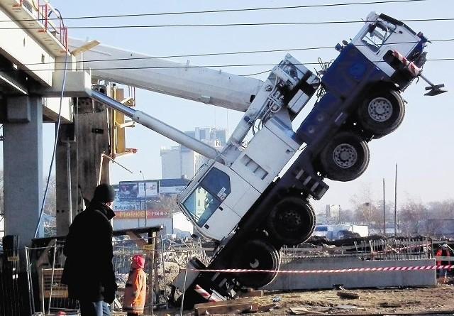 Do wypadku na budowie dworca doszło w grudniu zeszłego roku