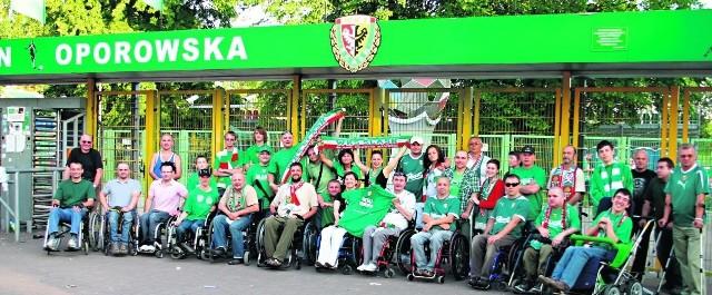 Na nowym stadionie na Pilczycach już zaplanowano miejsca dla niepełnosprawnych kibiców