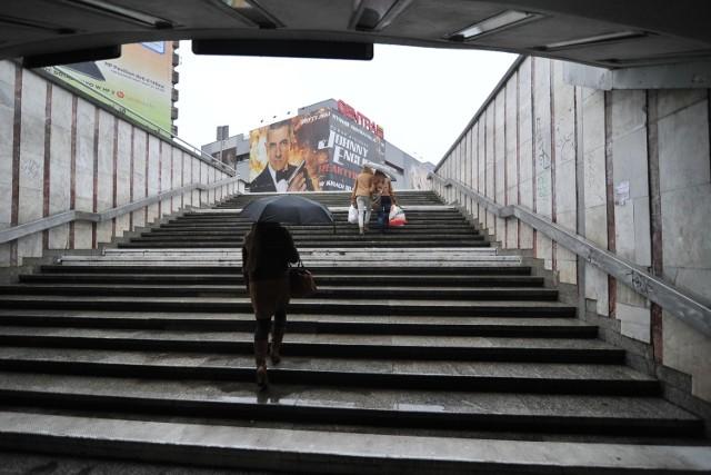 Przejście podziemne przy Centralu jest wątpliwą wizytówką Łodzi