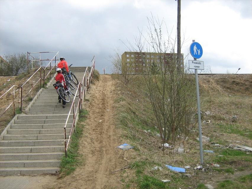 Trasa rowerowa 103, wybudowana w ubiegłym roku