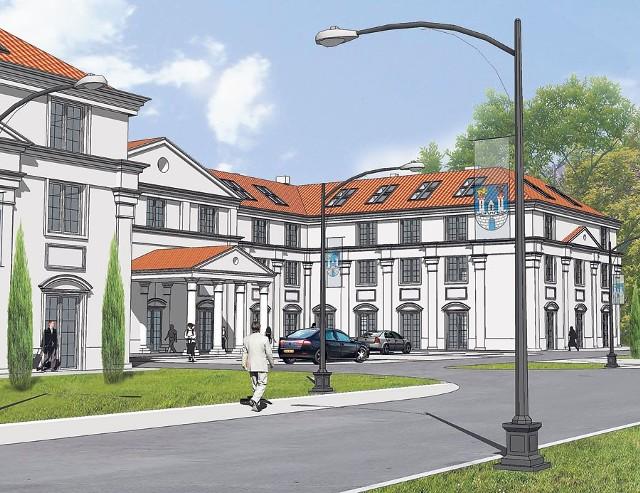 Nowy częstochowski hotel będzie w stylu klasycystycznym
