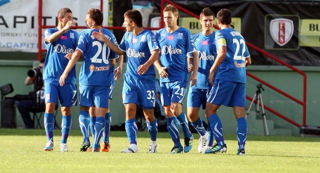 Piłkarze Lecha po raz kolejny udowodnili swoją wyższość w meczu z ŁKS-em