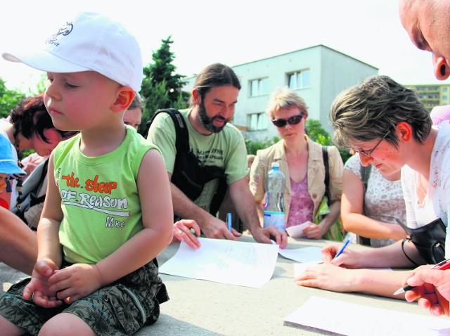 Rodzice walczą o lokal zastępczy i odbudowę żłobka